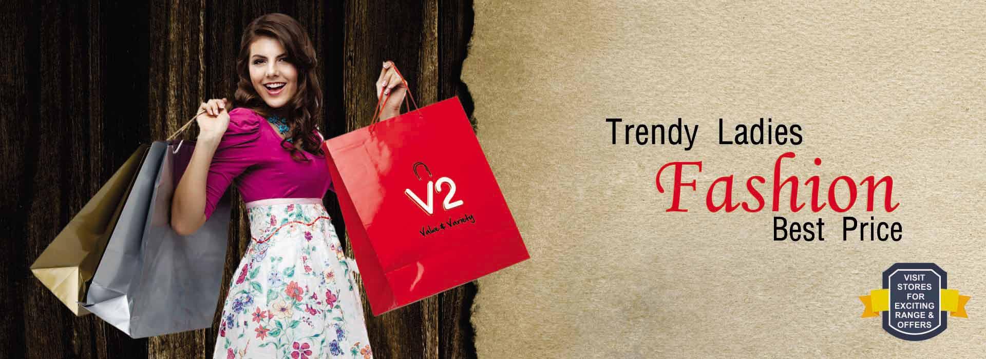 Nearest Fashion Store for Men, Women, Kids : V2 Retail